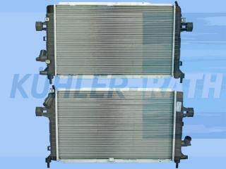 Opel radiator (1300269 13143570 13128925)
