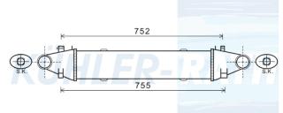 Kühler-Rath 80365 Mercedes-Benz Ladeluftkühler