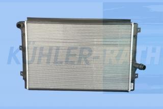 VW/Audi/Seat/Skoda Wasserkühler (1K0121251AB 1K0121251BK 1K0121251DM 1K0121251DD 1K0121251EH 1K01212