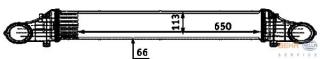 Kühler-Rath 80350 Mercedes-Benz Ladeluftkühler