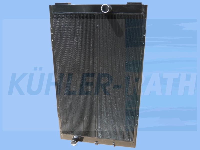 Van Hool radiator (VH11006336 11007123 VH11007123 11006336 11003691 07790290000)
