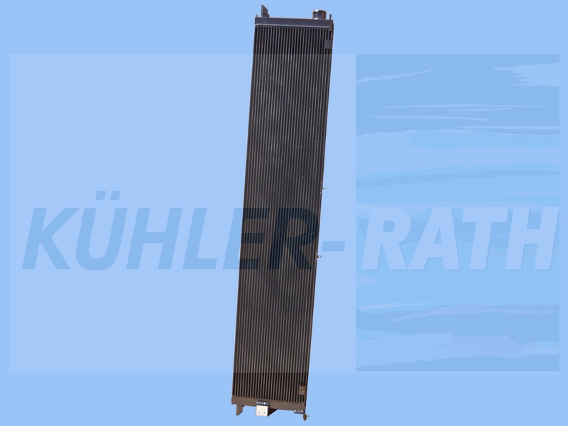 Van Hool radiator (11051499)