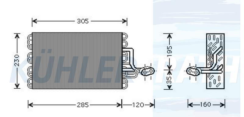 VW Verdampfer (701820023B 701820103A)