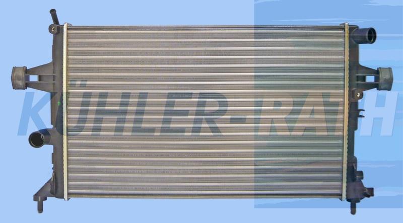 Opel Wasserkühler (1300189 93277988 732729)