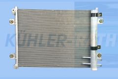 Komatsu condenser (20Y8101221 20Y-810-1221)