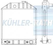 Ford radiator (D8NN8005PA)