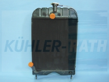 TEH20 TED20 Kühler Wasserkühler passend für Massey Ferguson MF TEA20