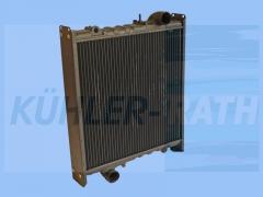 Fendt radiator (G186207050010 1570662)