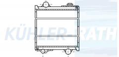 Renault/Claas Wasserkühler (7700049956)