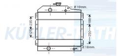Renault Landmaschinen Wasserkühler (7700059907)