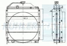 Renault Wasserkühler (7700056938)