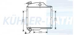 Zetor Wasserkühler (72011311)
