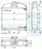 Hanomag Wasserkühler (4460840800)
