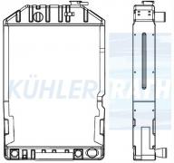Ford/New Holland radiator (E7NN8005BB15M)