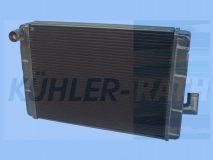Multicar radiator (31140132000 31140130000 0203134 3114.013.2000 3114.013.0000)
