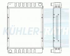 Jungheinrich radiator (50220146 50430353)