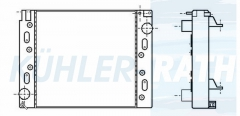 Mercedes-Benz/Evobus Wasserkühler (6285000202 44480102000)