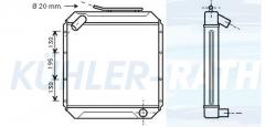 Mercedes-Benz Wasserkühler (3055010201 3055010601)