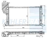 Mercedes-Benz Wasserkühler (9015003100 11749)