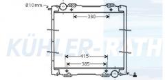 Wasserkühler passend für Scania (1491710 570487 1766125 1784615 1769999 1798689 1770096)