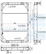 Wasserkühler passend für RVI (5010140366 5010230824)