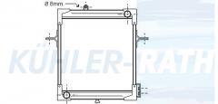 Wasserkühler passend für RVI (5000452103 5001656153?)