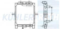 RVI radiator (5010619446 5001866280)