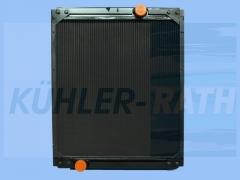MAN radiator (81061016149)