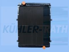 MAN/Temsa radiator (81061010055 81061010056 83061016518 81061006329 81061006283 81061006261)