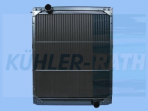 MAN radiator (83061016519 83061006505 152600)