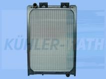 MAN radiator (81061016437)