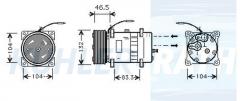 Volvo Kompressor (3962650 SD7H158003)