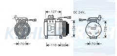Iveco Kompressor (98497470 4471009750)