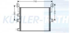 RVI Kondensator (5010514735 5010619517 5001875436)
