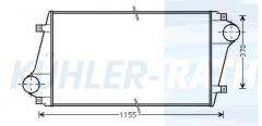 Volvo Ladeluftkühler (85000621 8113576 9253815 100313849)