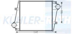 Volvo Ladeluftkühler (85000620 9521591 85000030 100313848 20809850 85006620)