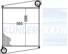 Volvo Ladeluftkühler (8113538)