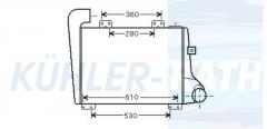 RVI intercooler (5010332553 5000453321)