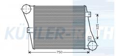 RVI intercooler (5001846686)