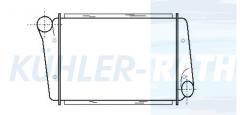 Ladeluftkühler passend für Volvo (1664585 1544468)