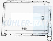 RVI intercooler (5001823431)