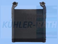 RVI intercooler (5010140361 5001823447 5001831708 5001856653)