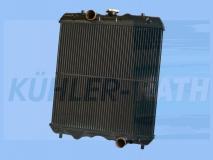 Kubota Wasserkühler (3A15117101 3A15117100 3A151-17101 3A151-17100)