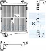 Renault Trucks/Volvo intercooler (5001873728 7420810106 7420810113 7420968088 7420968089 20810109 20