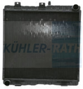 Case IH/New Holland/Steyr radiator (162000530001 1620005300011)