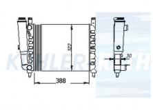 Fiat Wasserkühler (5968728 5938962 7556137)