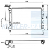 Fiat Wasserkühler (7556133 5968729)