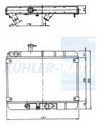 Fiat Wasserkühler (595119 4381137)