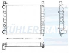 Fiat Wasserkühler (5980906 7543131 7572592)