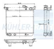 Fiat Wasserkühler (4431625 7500726)